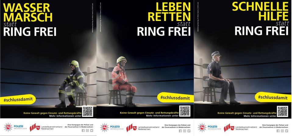 #schlussdamit – Polizeidirektion Hannover startet Kampagne gegen Gewalt